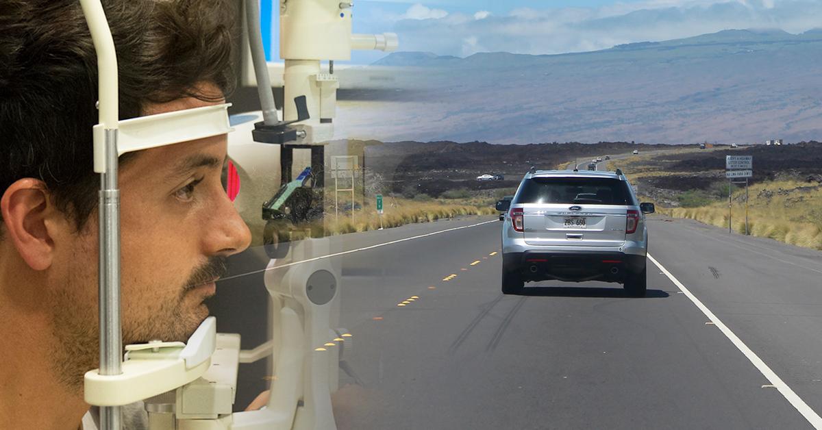 visió i conducció. Revisar salut visual abans de posar-se al volant