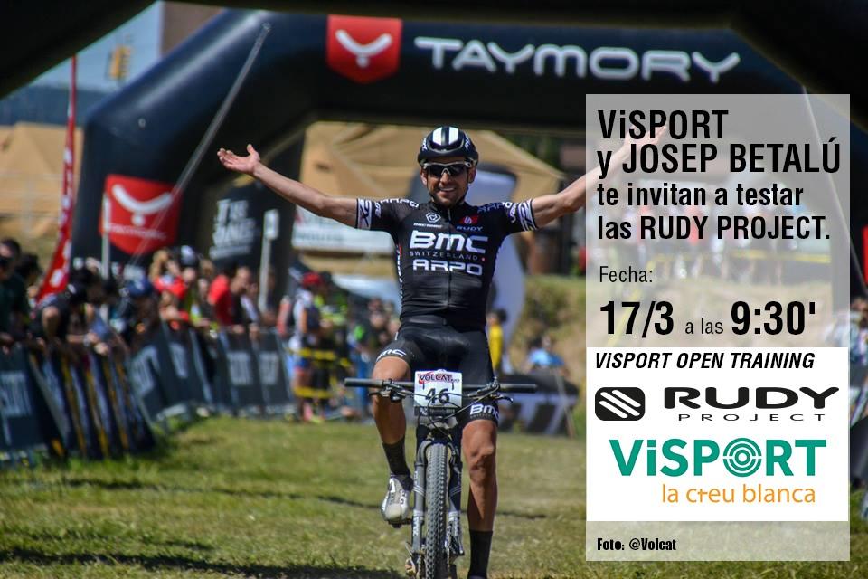 Visport i Josep Betalú et conviden a testar les RudyProject 17 març Reus