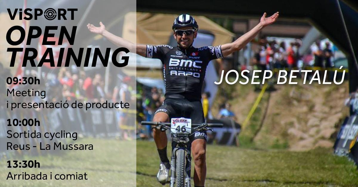 Visport Open Training amb Josep Betalú i Rudy Project