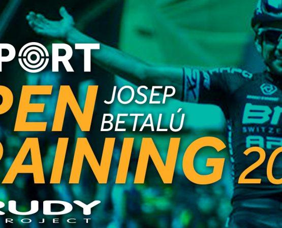 Dissabte 17 de març, Visport Open Training amb Josep Betalú i RudyProject