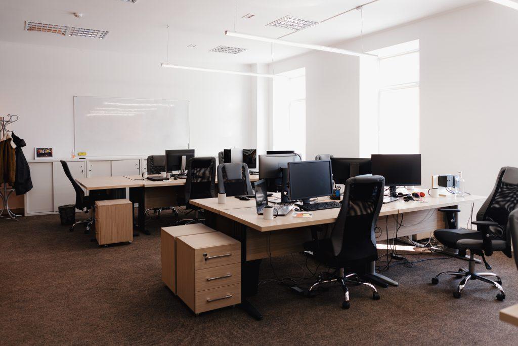 Imatge d'una oficina tradicional